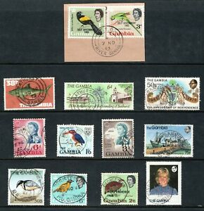 Gambia 'TPO' Postmark and other cancels (558)