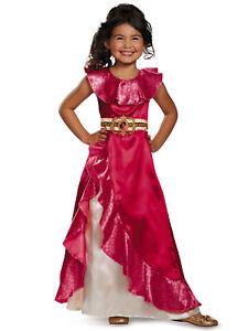 Elena Adventure Princess of  Avalor Disney Toddler Dress Up Girl Costume 3T-4T