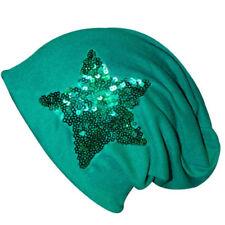 Bonnets bleus pour femme, en 100% coton