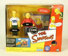 Playmates The Simpsons WOS KBBL Radio Station Set MIB  World Of Springfeild