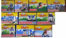 Lotto 9 scatole Costruzioni My Little Town x Costruire Caserma Polizia - AFFARE!