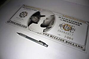 Billion Dollar Mayweather/Conor McGregor Print