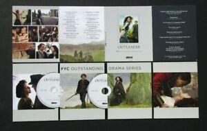STARZ OUTLANDER SEASON ONE FYC OUTSTANDING DRAMA SERIES INFORMATION DVDS