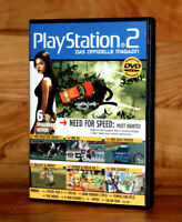 PS2 DVD Demo Need for Speed Most Wanted Soulcalibur 3 Gran Turismo 5 NHL 06