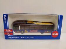 Rare Siku 1894 Man Linienbus City Bus Haribo Candy 1/87 Blue