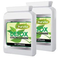 Détox Nettoyage Du Côlon Régime Pilules Perte de Poids Amincissant 60 Capsules