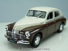 GAZ M20 POBEDA 1/43RD SCALE TAXI CAR RUSSIAN LEGENDS PACKAGED ISSUE K8967Q~#~