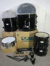 Pearl Vision VX Series 5 Piece Kit - Jet Black - With Sensitone Snare