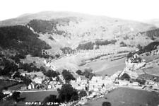 Kgb-78  Arial View, Corris, Merionethshire, Wales. Photo