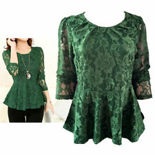 Peplum Hand-wash Only Floral Tops for Women