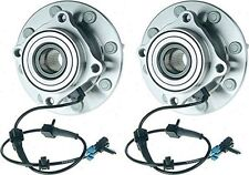 Hub Bearing for 2002 GMC Yukon XL 2500 for 4WD/AWD Only-8 STUD-Front Pair