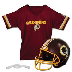 Franklin NFL Washington Redskins Football Helmet Jersey Set Costume Ages 5-9