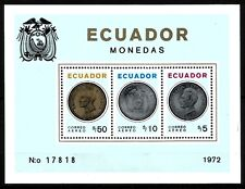 EQUATEUR  Bloc   Neuf ★★ luxe / MNH  1972