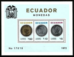 EQUATEUR  1972    Bloc   Neuf ★★ luxe / MNH