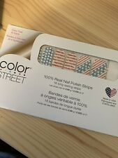 Color Street nail strips, Flag, You're It, retired set