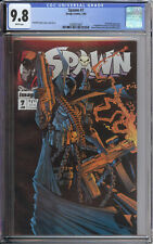 SPAWN 7 CGC 9.8 WHITE PAGES TODD MCFARLANE MOVIE COMING SOON