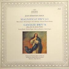 BACH Magnificat BWV 243 Cantate BWV 78 GER Richter Press CBS 75522 LP