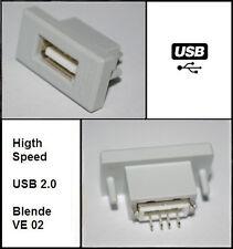 USB Einbaubuchse passend zu Möbeldesign Skoda Superb Octavia Yeti VW Golf Passat