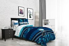 Fortnite Gaming Boys Full Comforter, Sheets, Pillow Shams (7 Piece Bed In A Bag)