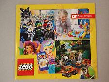 Lego catálogo julio-diciembre de 2017, nuevo, no leído