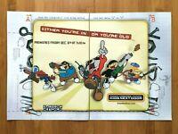 2002 Codename: Kids Next Door CARTOON NETWORK PREMIERE Print Ad/Poster Official!