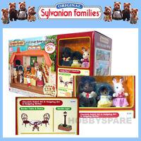 SYLVANIAN FAMILIES BRICK OVEN BAKERY GIFT SET 3x FIGURES + GARDEN SETTINGS 5244