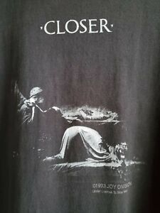 Joy Division Vintage Shirt XL New Order The Cure Smiths Siouxsie and the Banshee