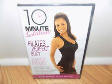 10 Minute Solution: Pilates Perfect Body (DVD, 2008) BRAND NEW, SEALED