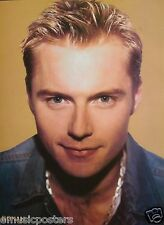 "RONAN KEATING ""WEARING GOLD CHAIN AROUND NECK"" POSTER FROM ASIA - Boyzone"