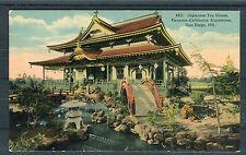 Cartolina Japanese Tea House Panama-California esposizione - 01263