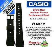 Casio Watch Band Replacement Original 18mm Would Fit W59 W-59-1v Others