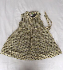 Bonpoint triangles pattern dress (Size 4) Perfect Condition