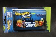 GROSSERY GANG Cards 3 Pack Blister  - New & Unopened