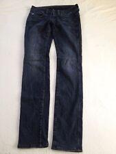 G-Star Raw Women's Lynn Mid Rise Skinny Dark Blue Jeans Size 27 Inseam 32