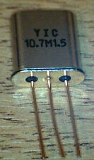 10M15A  10.7 MHz  15KHz  Bandwidth  Crystal Filter stops Bleedover NEW