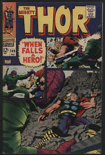 THOR #149, 1968, Marvel Comics - FINE+