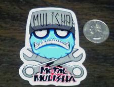 METAL MULISHA Wrench Head Sticker Car Window Decal Riding Gear Nitro Circus MX
