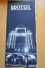 Reiseprospekt Belgien Brüssel Hotel Atlanta   ,6  Seiten um 1958