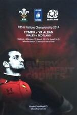 * WALES v SCOTLAND - RUGBY 6 NATIONS PROGRAMME (15th March 2014) *