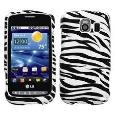 Zebra Hard Case Snap on Cover for LG Vortex VS660