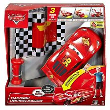 Disney Cars Flag Finish Lightning McQueen RC Interactive  Remote Control Sounds