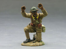 KING AND COUNTRY FOB035 FOB35 - SURRENDERING FRENCH SENEGALESE SOLDIER A 1:30