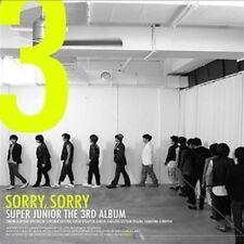 Super Junior Vol. 3 - Sorry, Sorry Version A Korean Edition