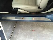 PORSCHE 944 968 924 951 CUSTOM STAINLESS STEEL DOOR SILL COVERS WORLDWIDE SHIP!