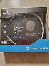 NEW Sennheiser PX 685i Sports In Ear Neckband Adidas Headphones White 3.5mm