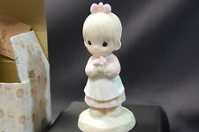 "Precious Moments Porcelain Figurine 1987 ""Mommy I Love You"" 112143"