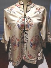 1930s Chinese Silk Embroidered Jacket