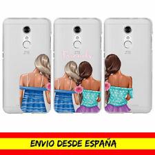 Funda Movil Case ZTE Amigas Friends Moda Fashion Girls Cover Carcasa Dibujo
