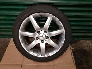 """Mercedes C Class W203 17"""" inch Alloy Wheel With Tyre 225 45 R17 ref464"""