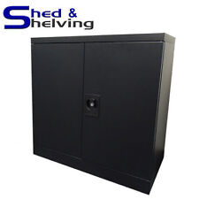 Metal Wall Cabinet Cupboard Toolbox Office Shed Garage Lockable Storage